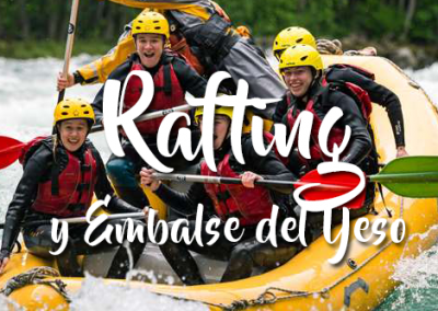 Rafting y Embalse del Yeso