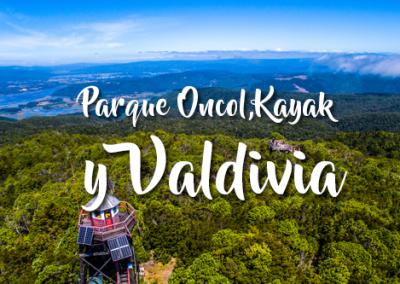 Valdivia, Parque Oncol y Kayak de Travesía